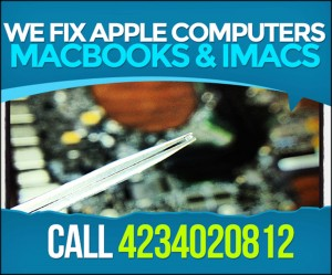 Apple MacBook 820-2915-B A1286 15 inch Laptop With Red Lines Video Repair Service North Of Atlanta