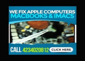 Apple MacBook UniBody No Video Repair On 2010, 2011, 2012, 2013 Systems With Testing and Repair